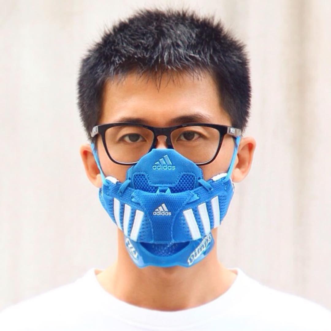 adidas running mask