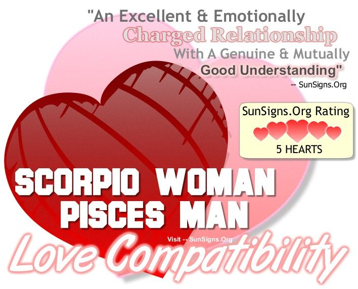 The best match for pisces woman