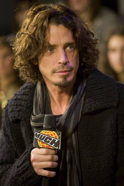 Chris Cornell attending Chris Cornell Visits Muchondemand on November ...