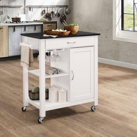 acme furniture ottawa portable island kitchen cart furniture rh pinterest co uk