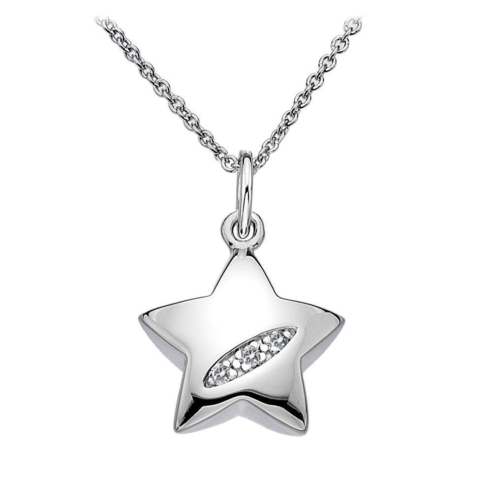 Shooting stars star pendant necklaces hot diamonds jewellery shooting stars star pendant necklaces hot diamonds aloadofball Images