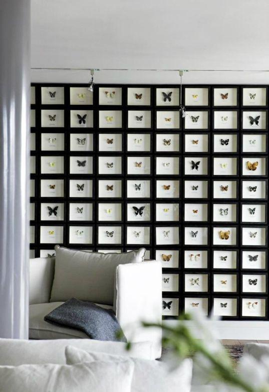 como colgar cuadros | Butterfly inspirations | Pinterest | Colgar ...