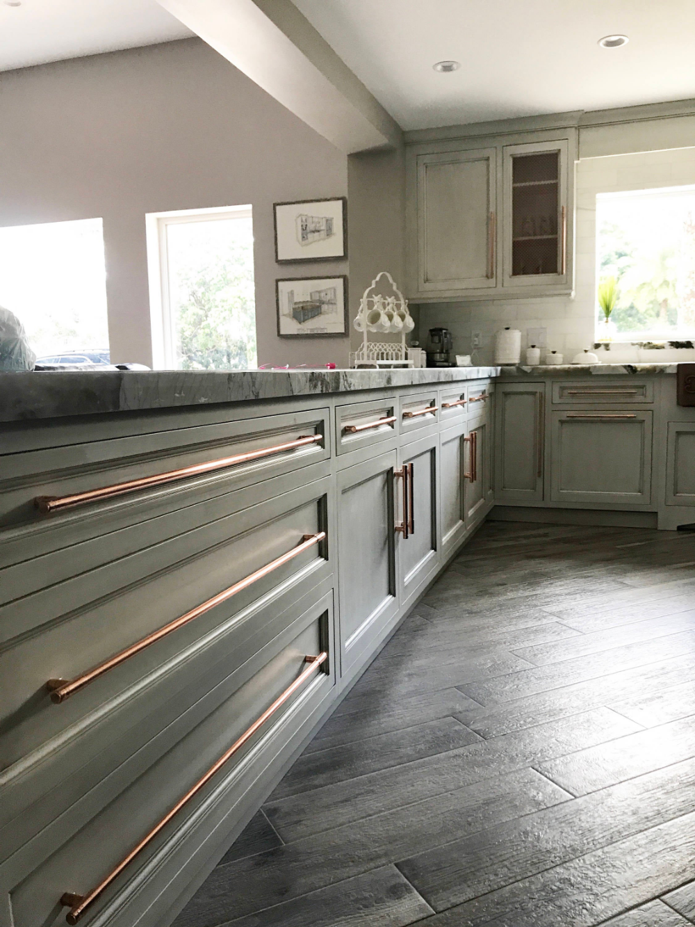 Copper Kitchen Pulls At Duckduckgo In 2020 Kitchen Door Handles Kitchen Handles New Kitchen Cabinet Doors