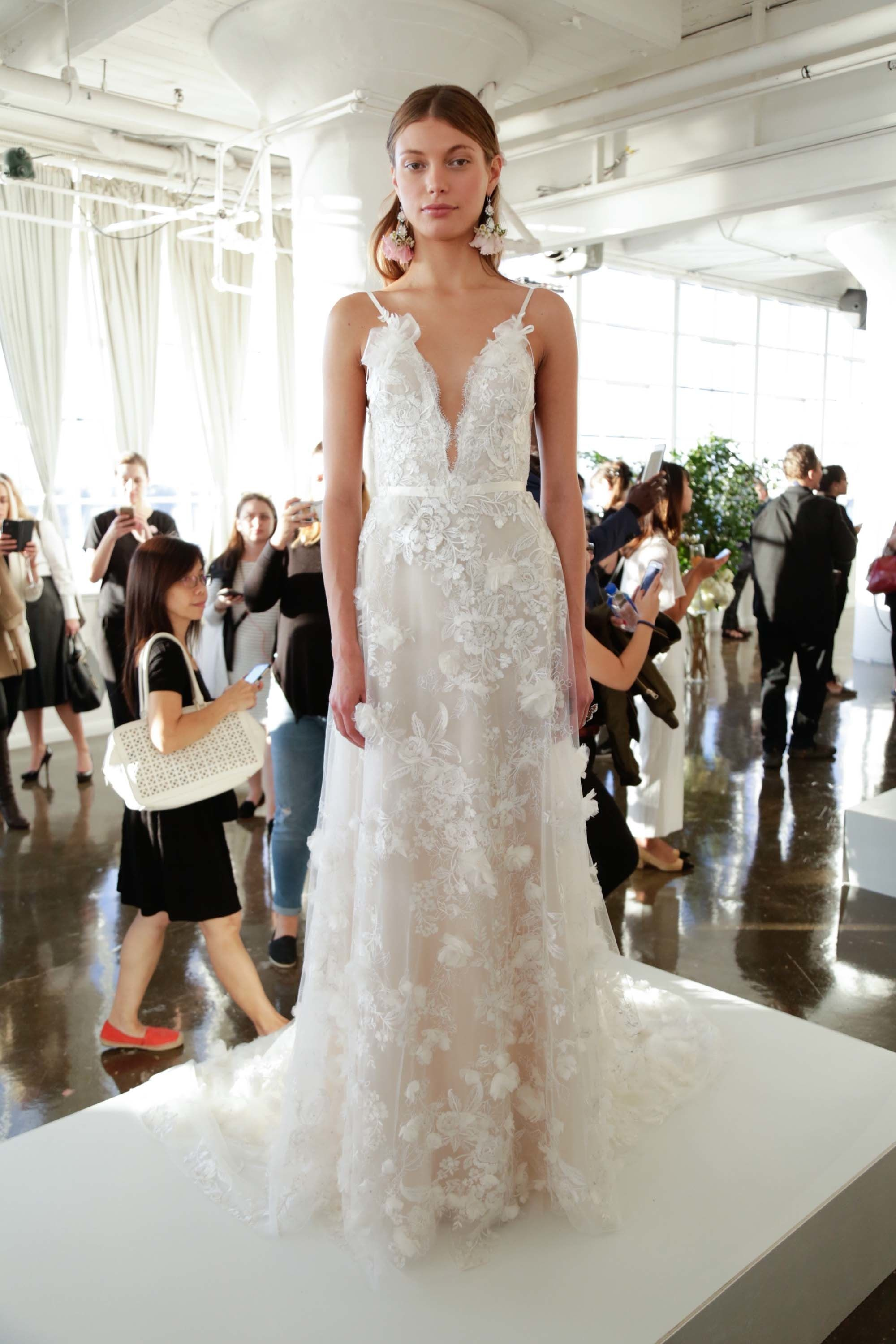 marchesa wedding dresses Marchesa Bridal Fall Fashion Show