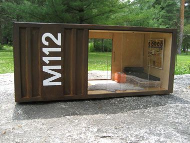 Paris renfroe m112 beer garden pinterest ships for Shipping containers for sale in minnesota