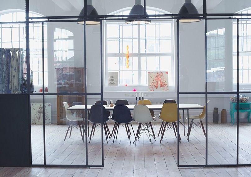 cloison verre vitr s atelier verriere pinterest cloisons verre et atelier. Black Bedroom Furniture Sets. Home Design Ideas