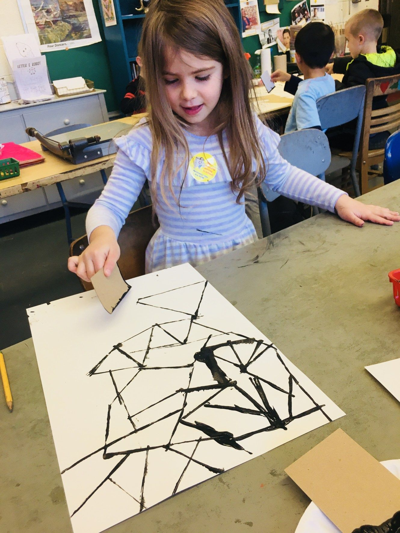 1st Grade Art Lessons is part of Montessori art, Class art projects, School art projects, Art classroom, Kindergarten art, Preschool art - lessons are not posted in any particular order regarding the flow of my curriculum  Hot Air Balloon Collage Hot Air …