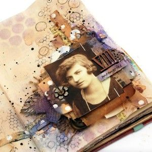 Memories Art Journal Page Project by Anna Dabrowska