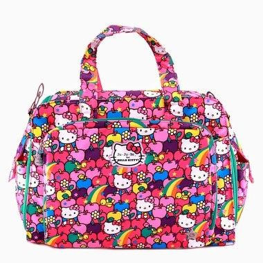 f03bd80601 Ju-Ju-Be s Hello Kitty Be Prepared Diaper Bag in Lucky Stars Print