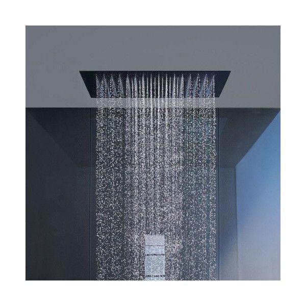 Hansgrohe Starck Ceiling Mount Square Shower Heaven Shower Head Modern Shower Design Bathroom Shower Design Modern Shower Head