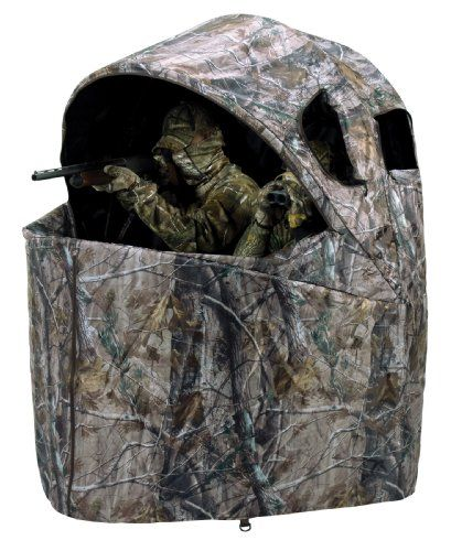 Ameristep Two Person Chair Blind Outdoorsmenstore Com Hunting Chair Hunting Ground Blinds