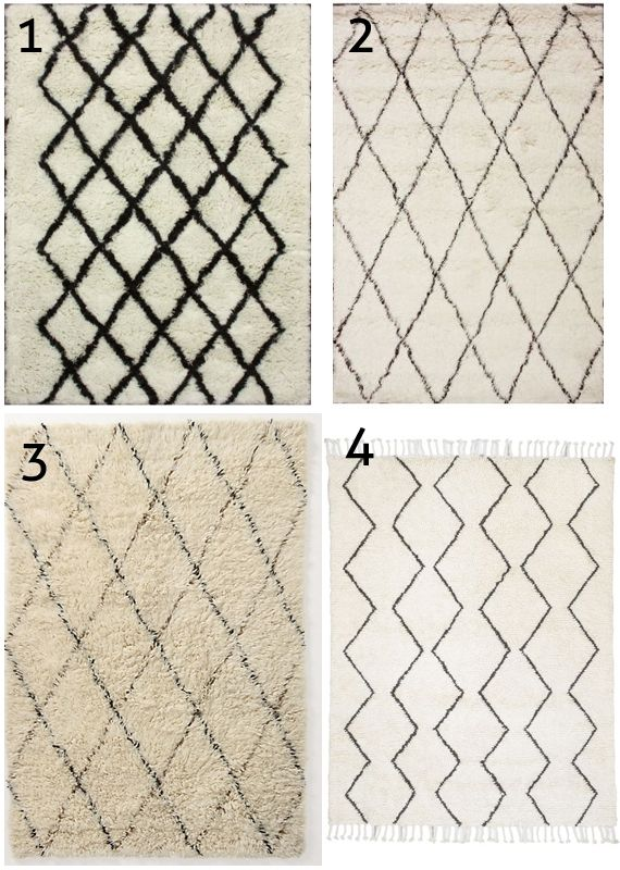 Beni Ourain Moroccan Rugs On A Budget