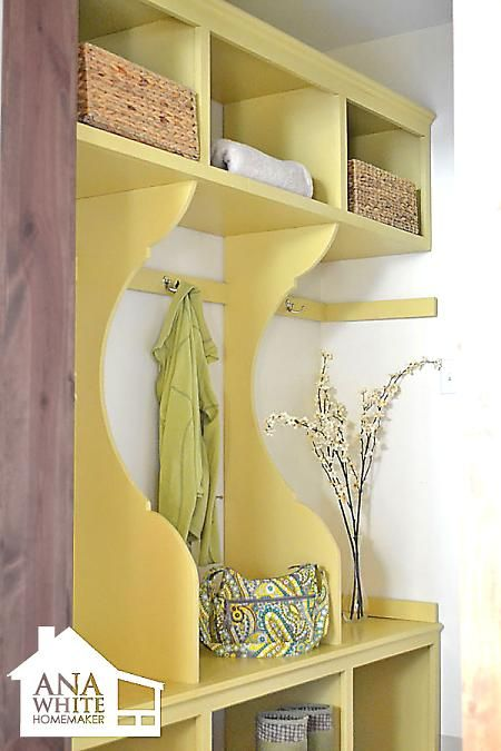 rangement DIY Pinterest Entree vestiaire, Rangement et Dressings