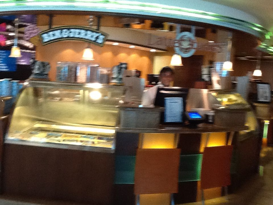 Ben & Jerry's at Royal Caribbean Enchantment of the Seas