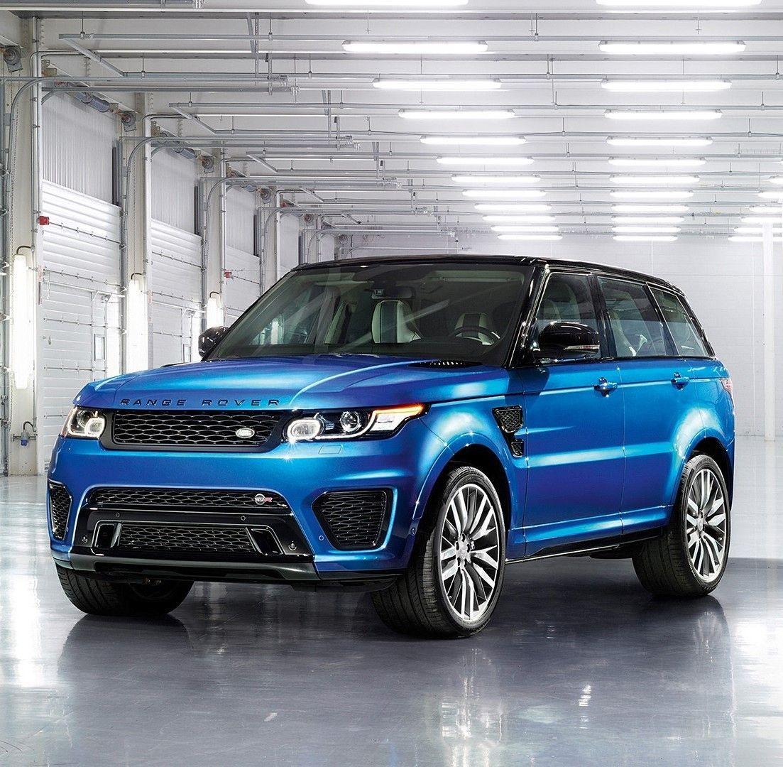 2015 Land Rover Range Rover Sport SVR en 2020 Autos