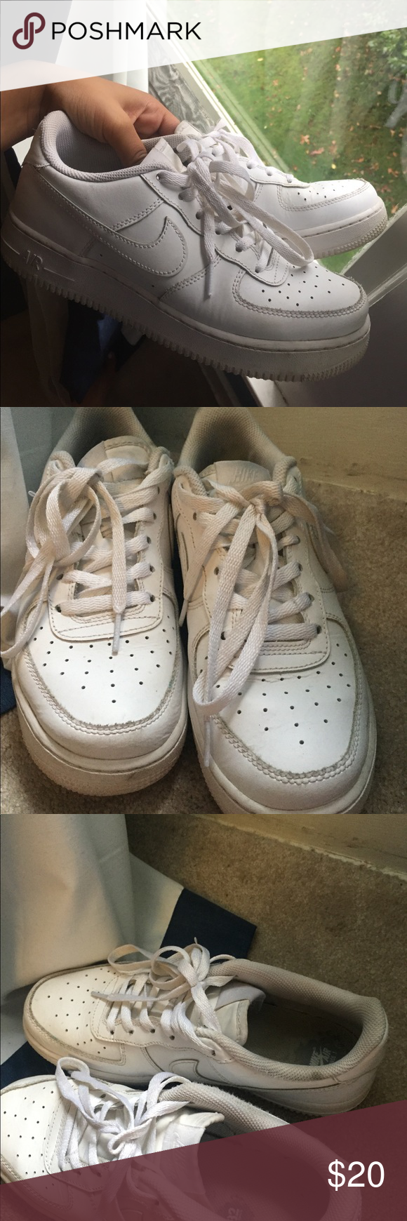 Nike Air Force 1 Very used . Price reflects condition .size