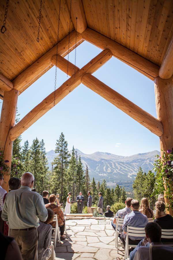 Luke and Christina's Rustic Breckenridge, CO Wedding by