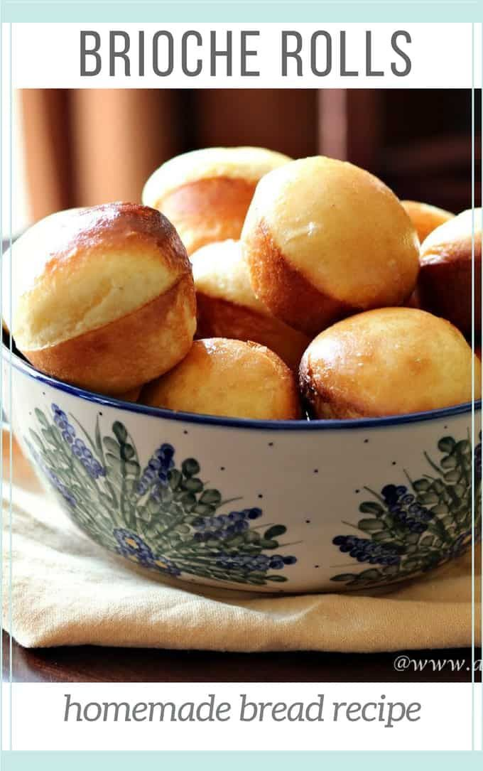 Brioche rolls develop their rich dough with eggs and butter An overnight rise allows time for the dough to develop This recipe for brioche rolls comes from the magazine C...