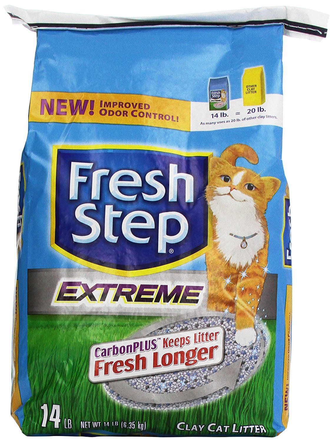 Fresh Step Cat Litter Extreme Clay 14 lb ** Insider's