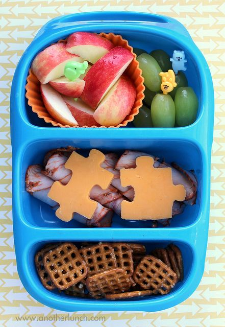 fun lunch in a bynto bento lunch box by anotherlunch.com, via Flickr