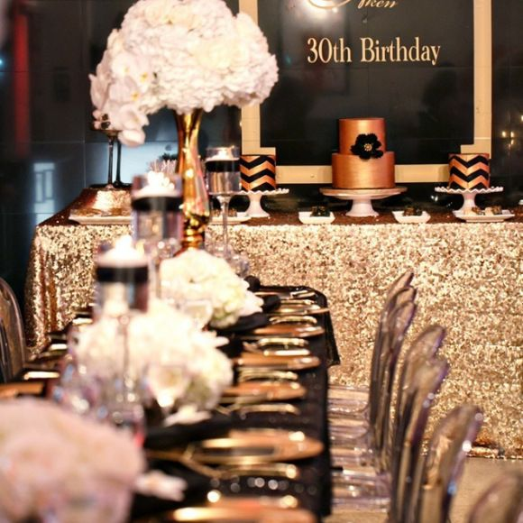 black and gold party inspiration gold party events and inspiration