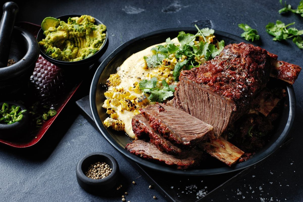Mexican Style Braised Short Ribs Recipe Braised Short Ribs Rib Recipes Short Ribs