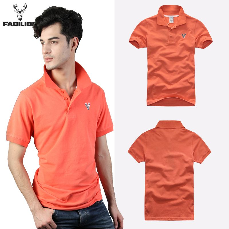 FABILION 2015 Brands Summer casual solid polo shirt slim fit camisa polos 100% cotton short sleeve men polo hombre man 5 colors - http://www.aliexpress.com/item/FABILION-2015-Brands-Summer-casual-solid-polo-shirt-slim-fit-camisa-polos-100-cotton-short-sleeve-men-polo-hombre-man-5-colors/32233178061.html