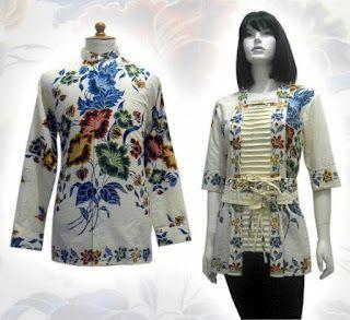 Model Baju Baju Batik Modern (Dengan gambar) | Kaos wanita ...