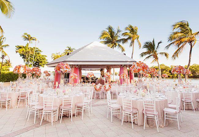outdoor reception | Jonathan Young Weddings | blog.theknot.com