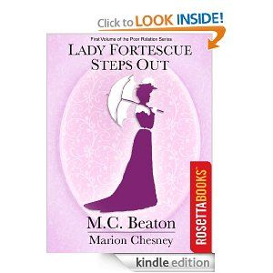 On sale today for $1 99: Lady Fortescue Steps Out by M C  Beaton