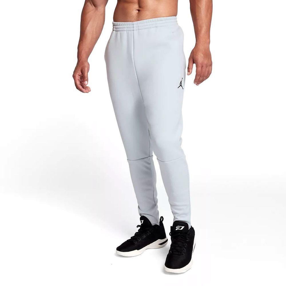 a06373ac3437 MENS NIKE JORDAN THERMA SPHERE MAX 23 TECH TRAINING JOGGER PANTS WHITE LRG   120  Nike  Pants