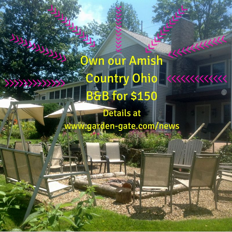 Enter an essay contest and you may own this Amish Country