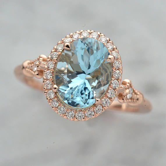 Forever Brilliant Charles /& Colvard Round 1.2ct 6 mm Natural white topazEngagement Ring Solid 14K White Gold Ring gift