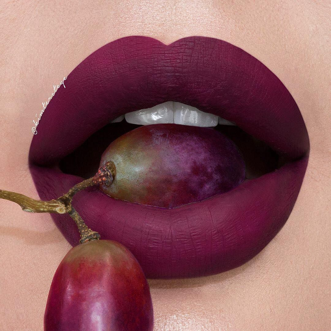 "Kylie cosmetics Lip Kit in ""Spice"" purple lip"