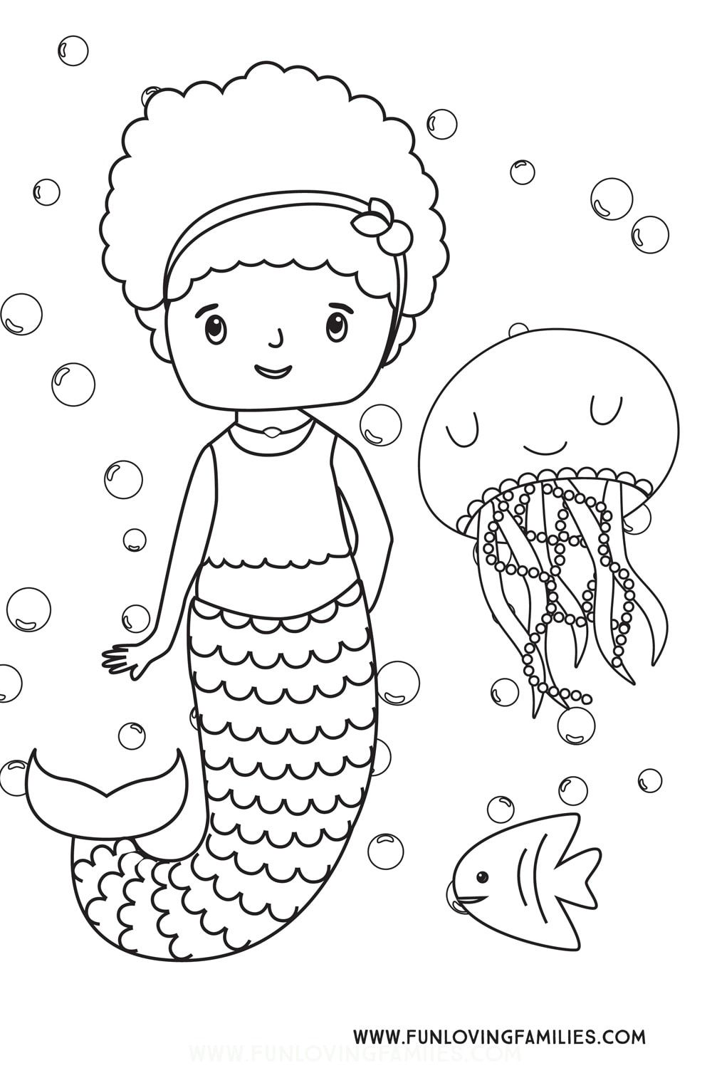 Mermaid Coloring Pages (Free Printables) | Mermaid ...