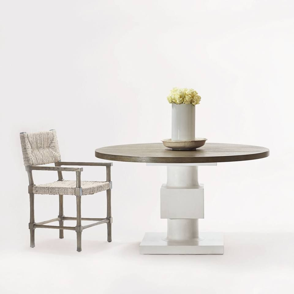 Sometimes Less Is More This Newberry Table And Palma Chair By Bernhardt Furniture Company Don T Need To Be Heavily