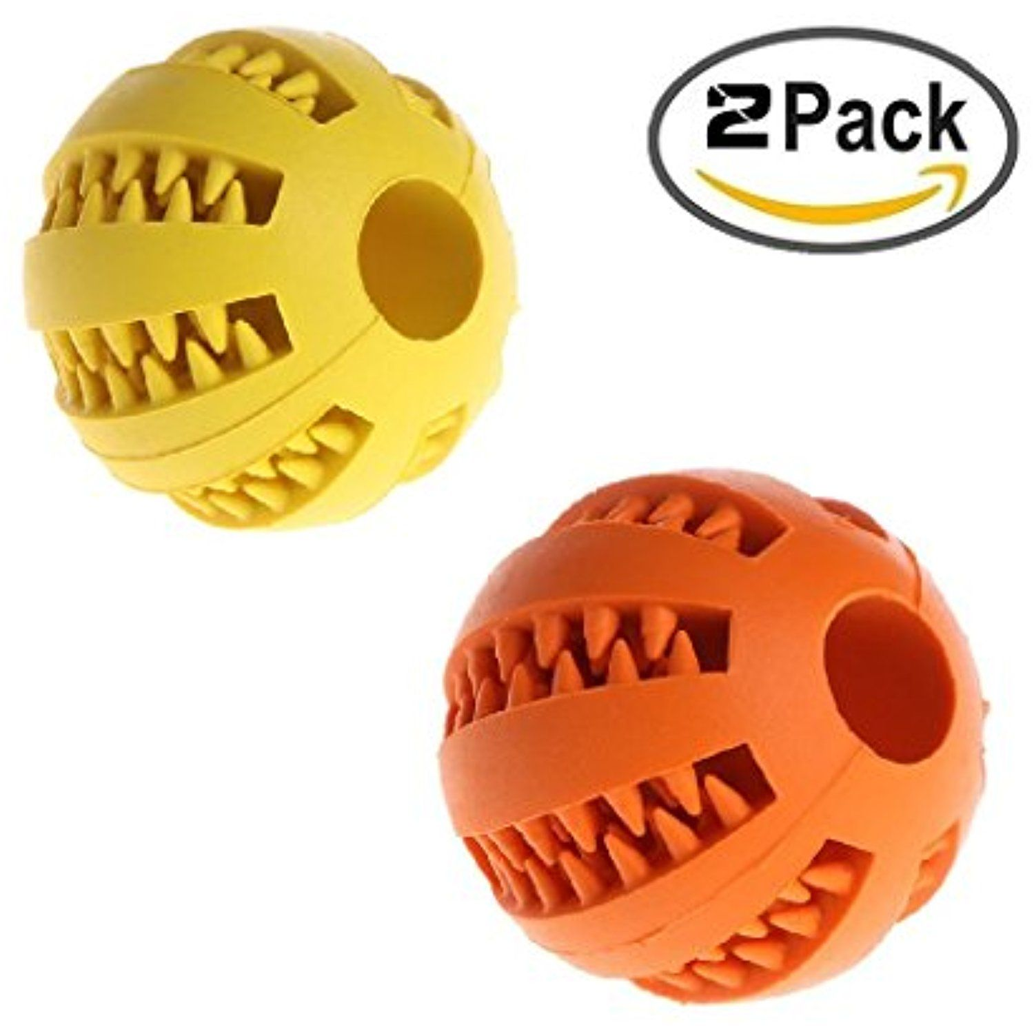 Yumian Dog Chew Toy Ball Nontoxic Bite Resistant Toy Ball For Pet