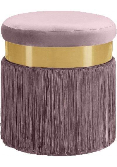 Wondrous Blush Pink Round Velvet Tufted Ottoman Footstool In 2019 Lamtechconsult Wood Chair Design Ideas Lamtechconsultcom