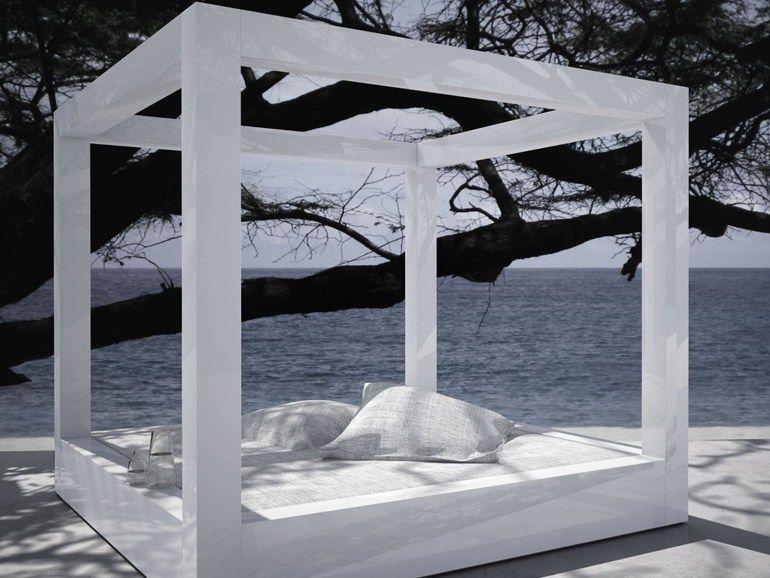 Lit De Jardin Double à Baldaquin RIDICULUM By RECHTECK Felix Schwake Design  Felix Schwake