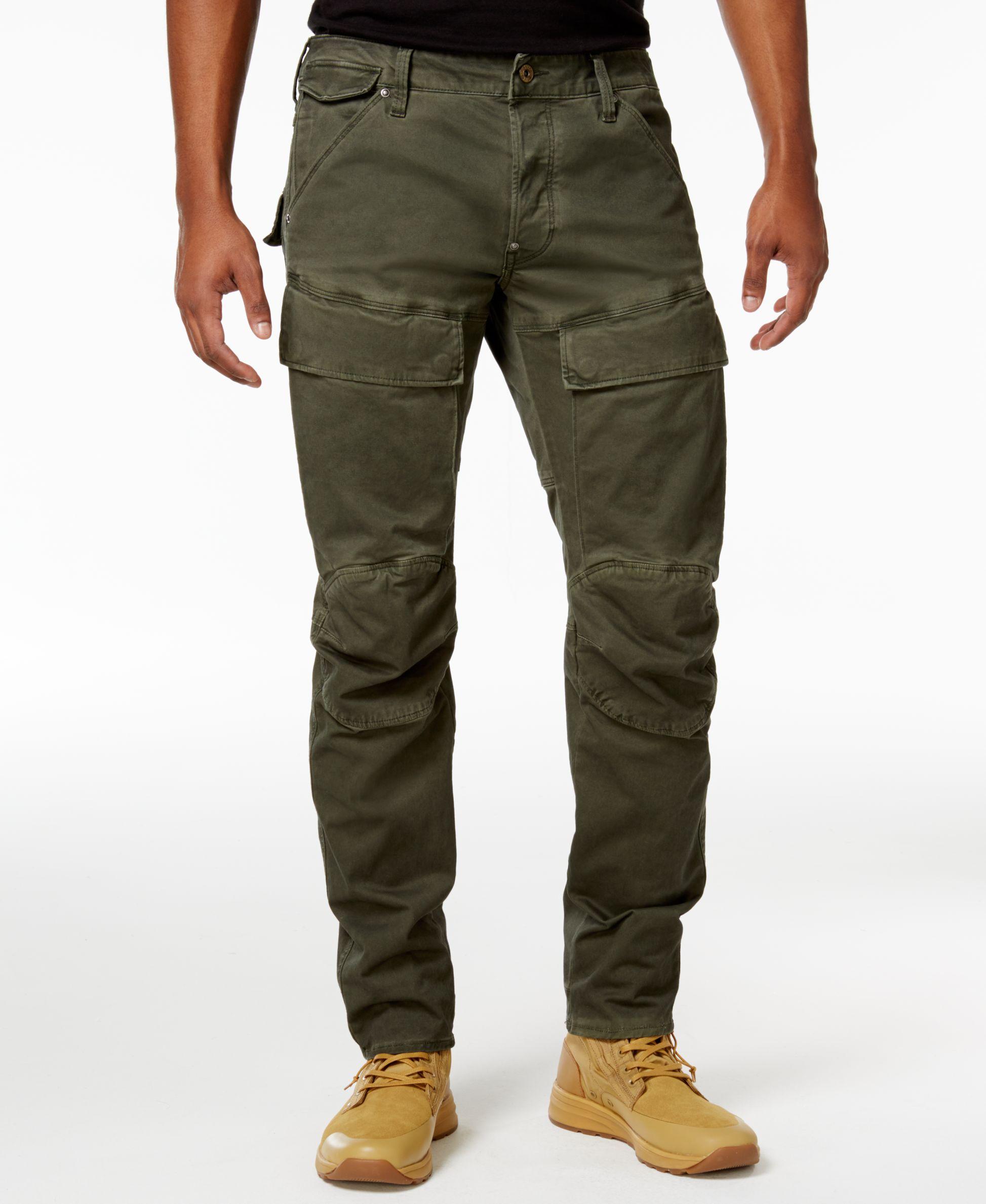 shop for genuine fashion design choose clearance G-Star Raw Men's 5620 Air Defense 3D Slim-Fit Cargo Pants ...
