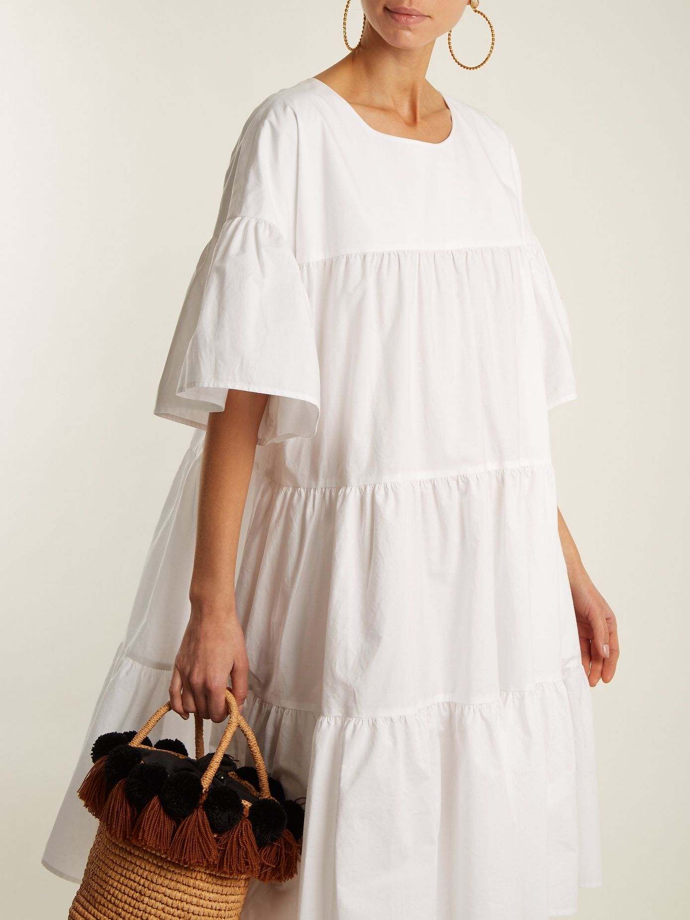 St Germain gathered cotton dress Merlette Cheap Real Eastbay Official Site Cheap Online Cheap Enjoy Clearance Visit ZQo2D