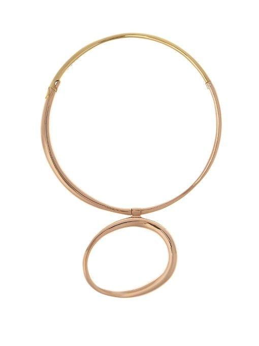 Charlotte Chesnais Koi necklace - Metallic dul5LlaEc