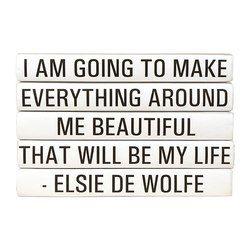E Lawrence Quotations Series: Elsie De Wolfe