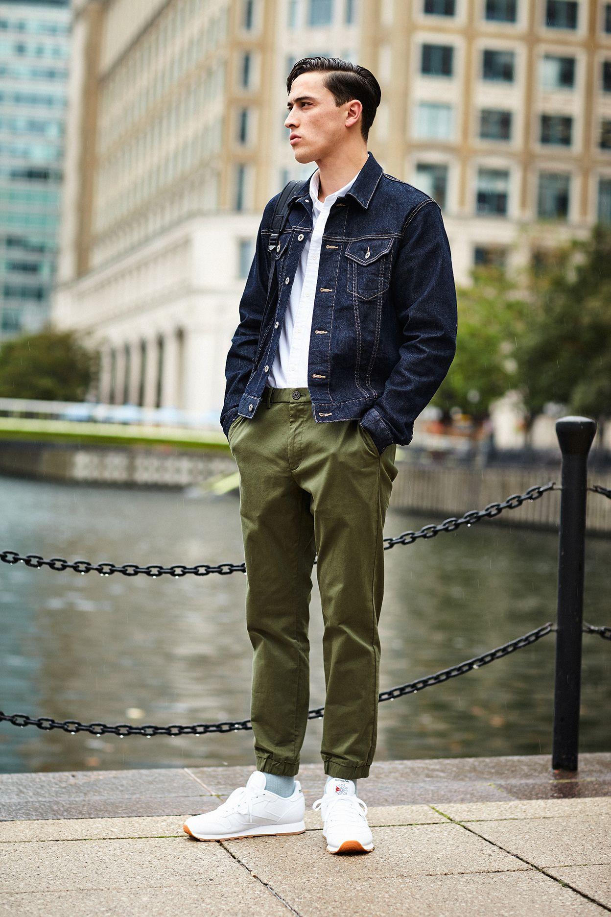 Men Denim Jacket | Uniqlo Man Style And Menu0026#39;s Fashion