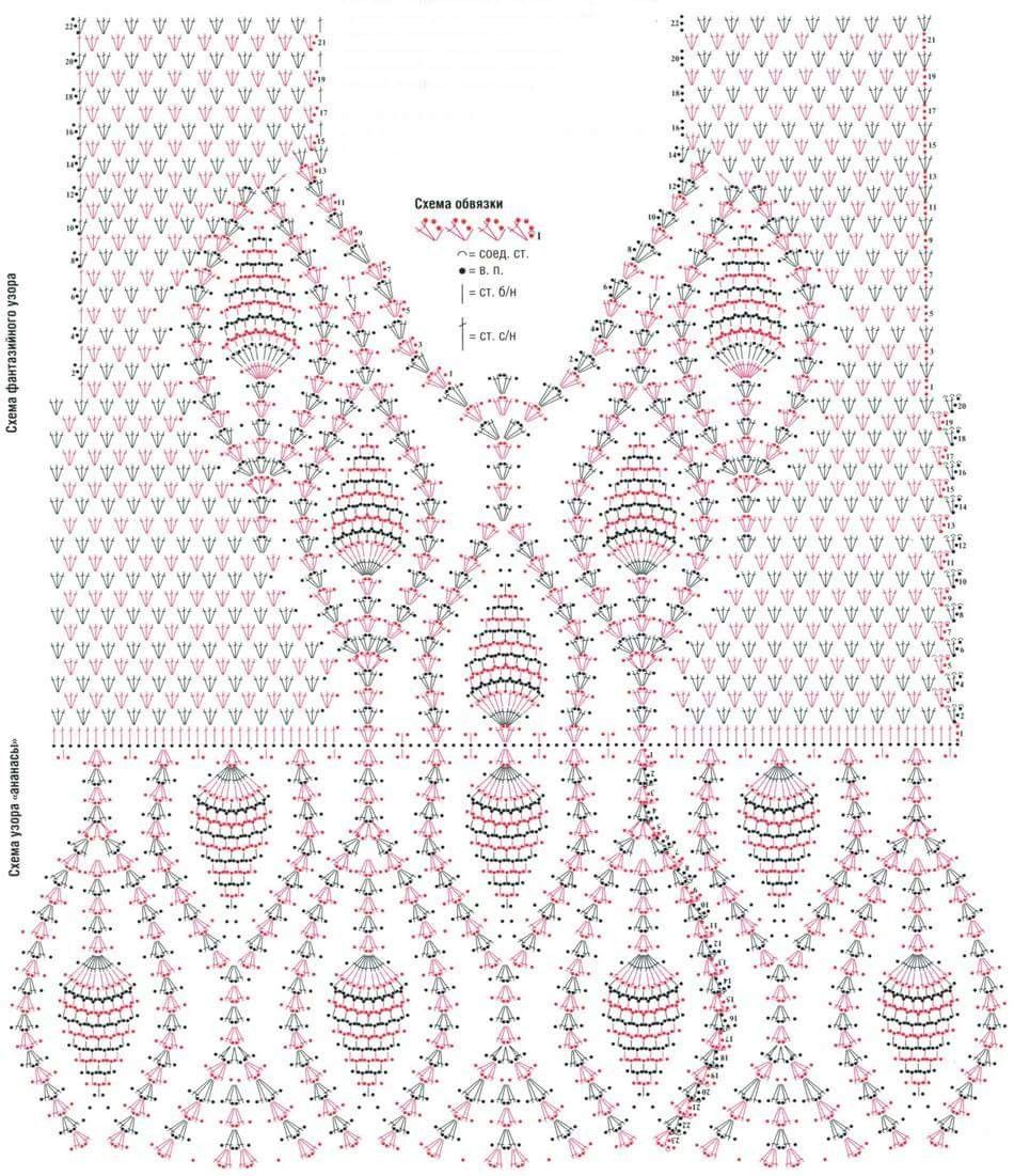 Pin by kamalas promthana on pinterest crochet tops crochet blouse crochet dress patterns crochet dresses crochet stitches patterns crochet chart pattern dress filet crochet crochet bankloansurffo Images