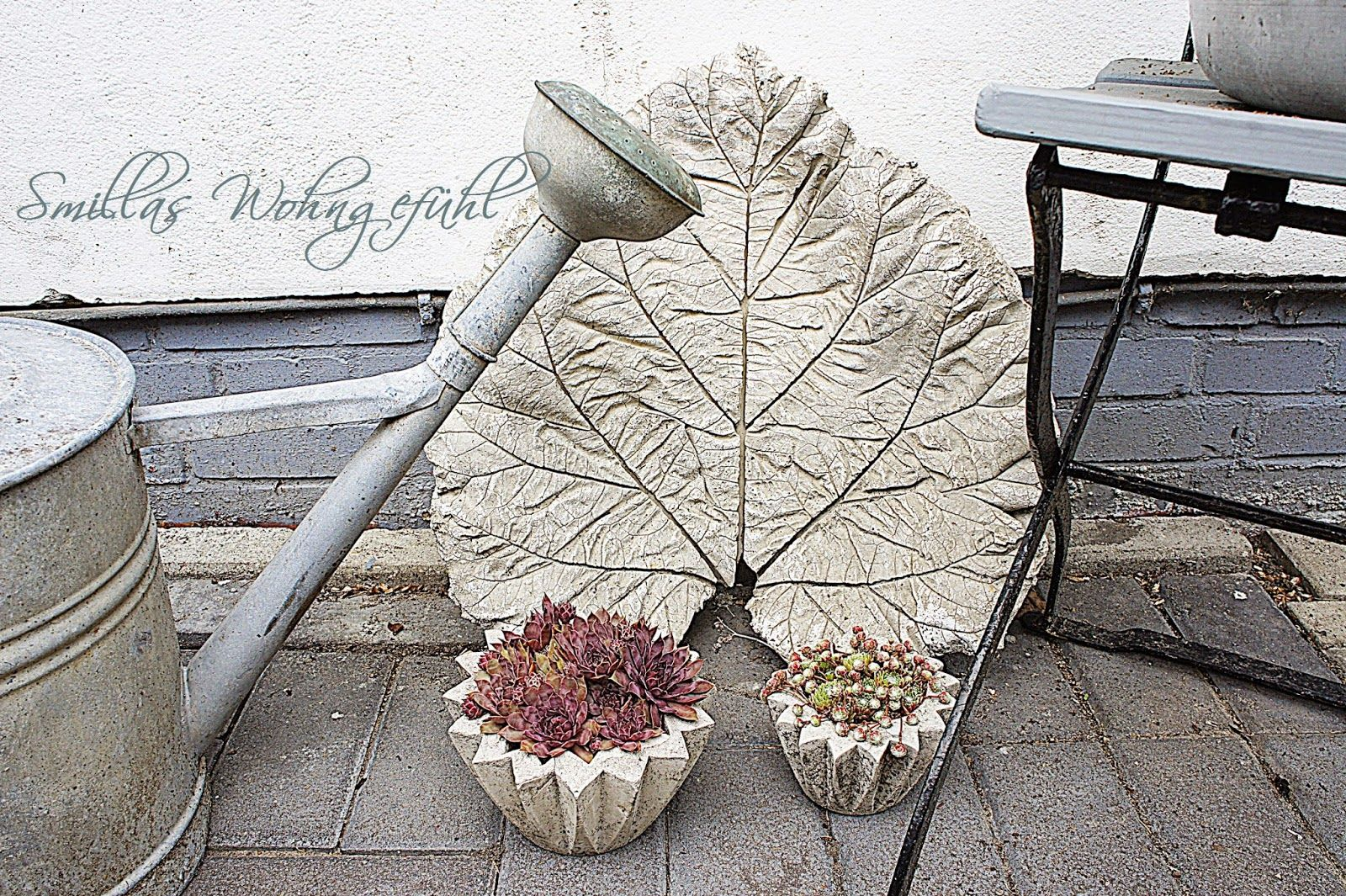 diy concrete leaves bl tter aus zement diy beton pinterest beton bl tter zement und. Black Bedroom Furniture Sets. Home Design Ideas