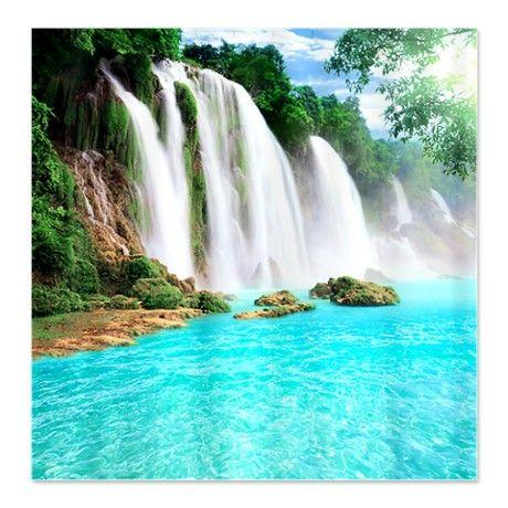 Tropical Waterfall Shower Curtain On Cafepress Com Beautiful