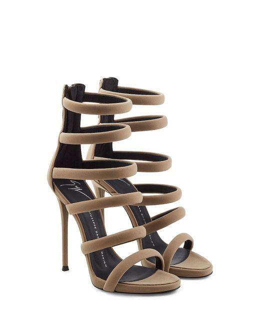 80adc5a06b4 Giuseppe Zanotti - Multicolor Strappy High Heels - Lyst