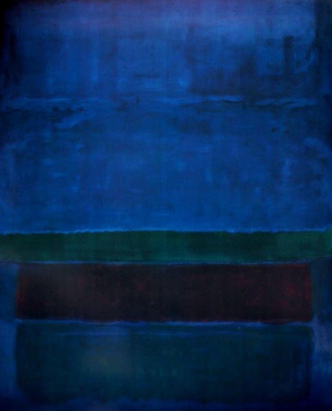 dailyrothko:  Mark Rothko, Untitiled (Blue, green and brown), 1951