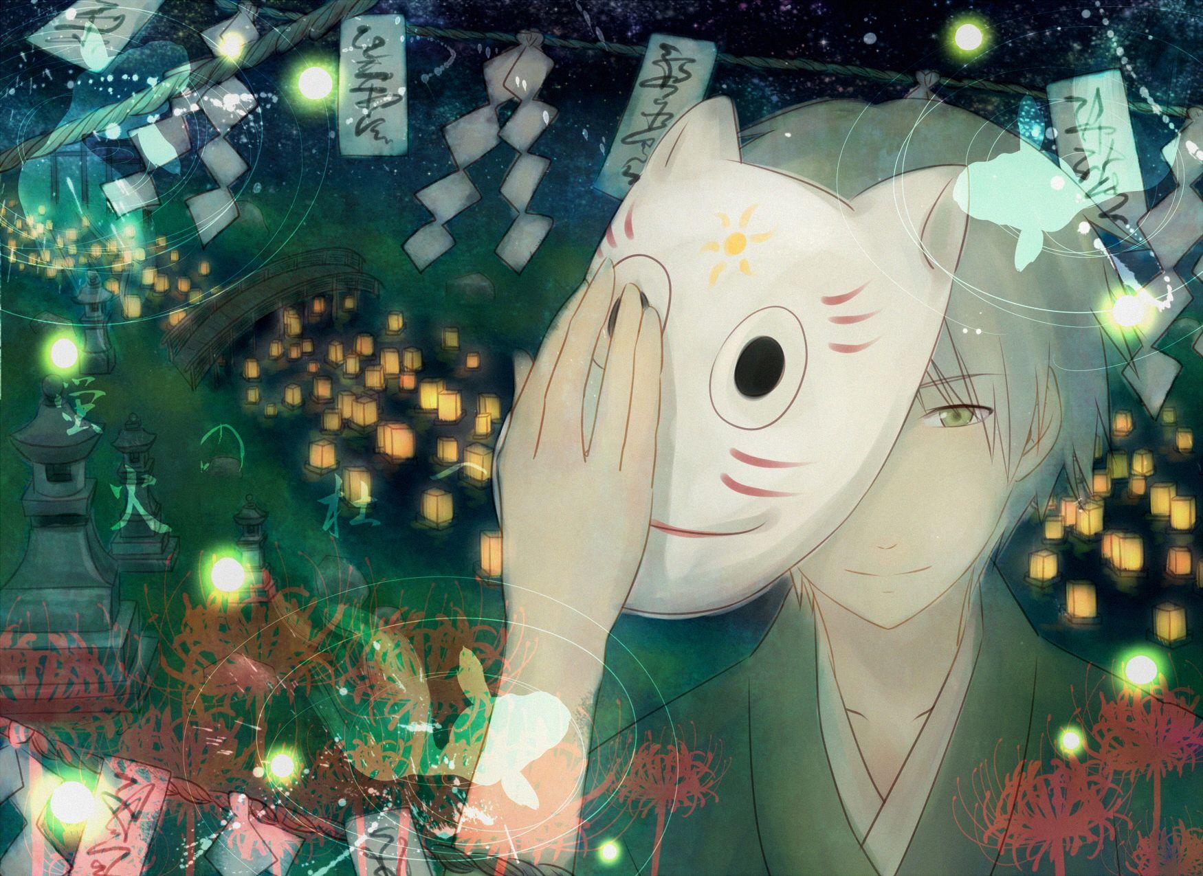 Gin (Hotarubi no Mori e)/1345391 Zerochan Rừng